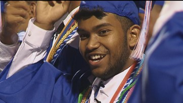 He lost his father, then his mother, then their home. This week he graduated high school.