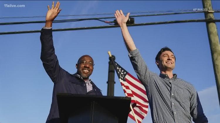 Warnock, Ossoff win in Georgia, handing Dems Senate control