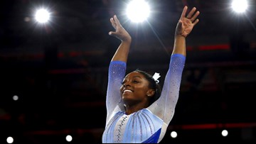 US gymnast Simone Biles set to be most accomplished Olympian of all time