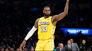 The King reigns: LeBron James is AP's male athlete of decade